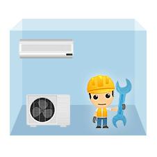 servis nástenná klimatizácia 1+1